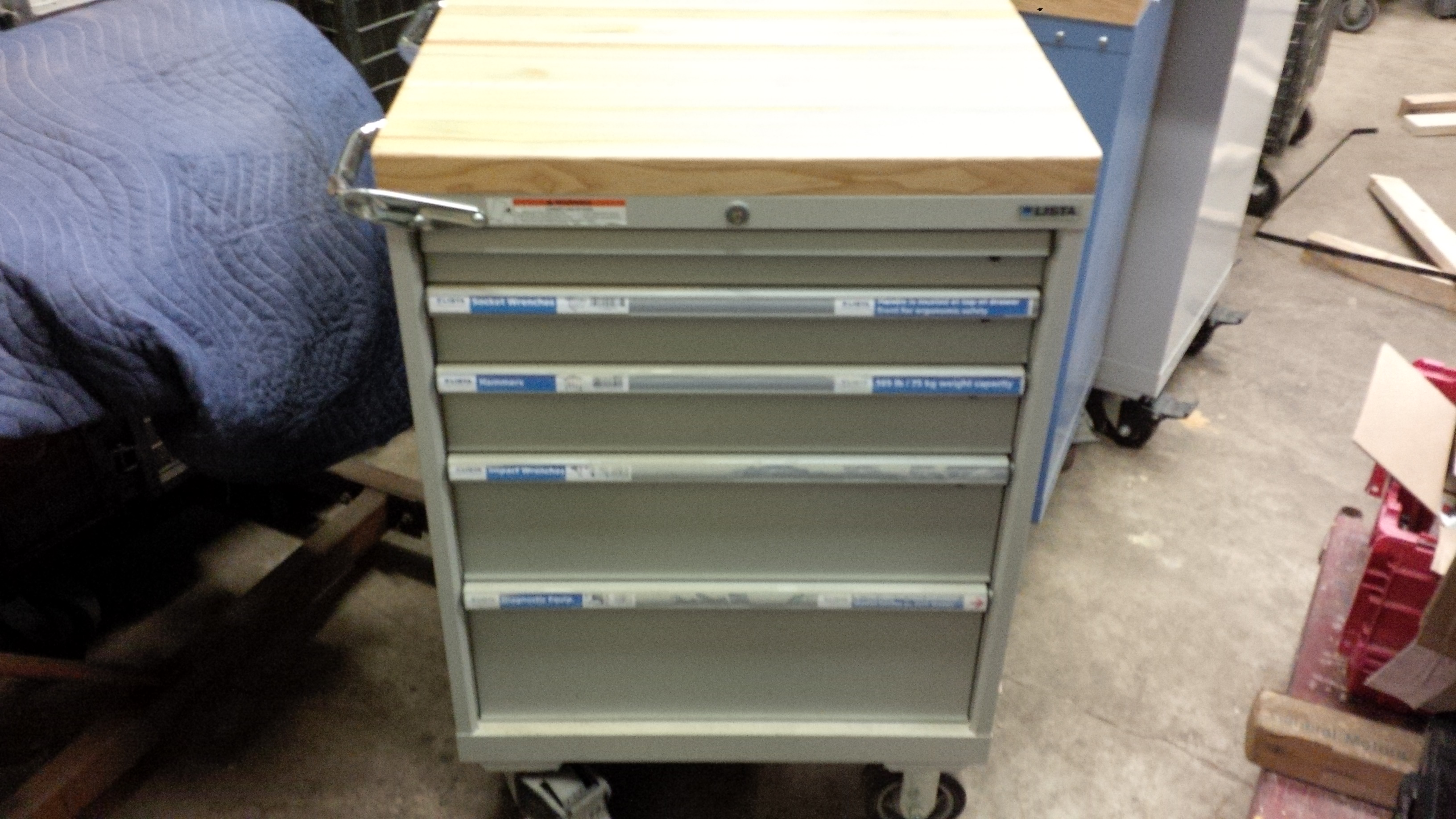 Lista 5 Drawer Tool Box  $1200.00